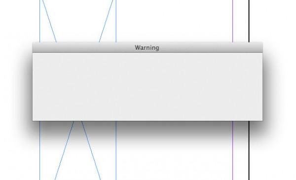 Erro no Adobe InDesign