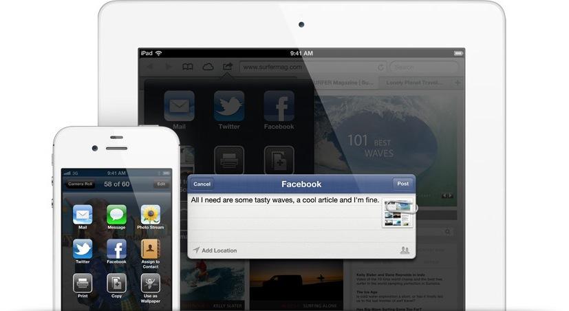 Integração do Facebook no iOS 6