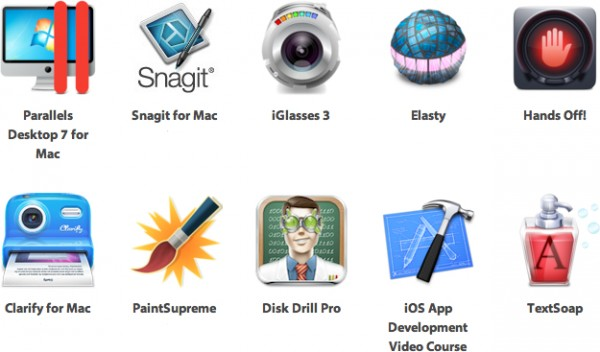 Aplicativos do iStack Mac Bundle