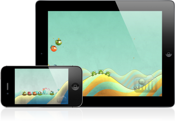 Tiny Wings - iPad e iPhone