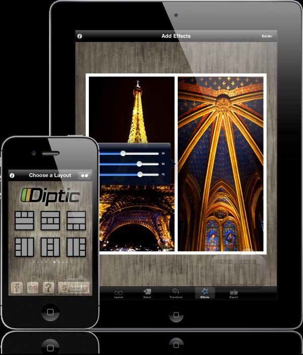 Diptic - iPad e iPhone