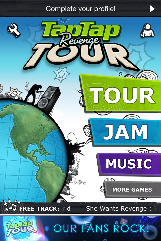 Tap Tap Revenge Tour - iPhone