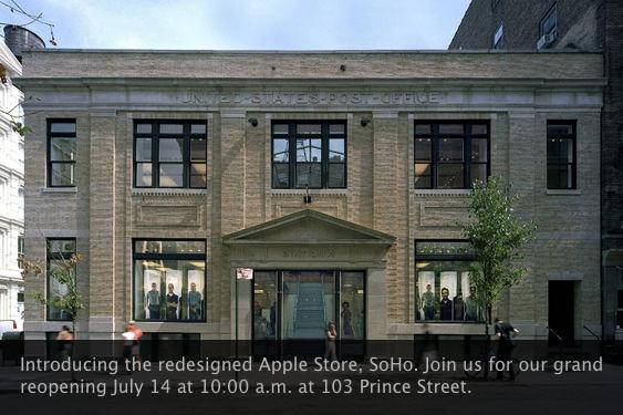 Reinauguração da Apple Store - SoHo