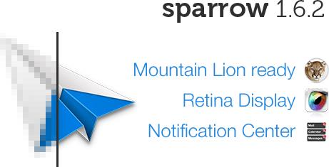 Sparrow 1.6.2 para Mac