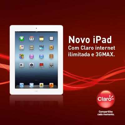 Novo iPad na Claro