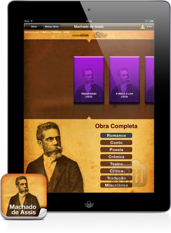 Machado de Assis - iPad
