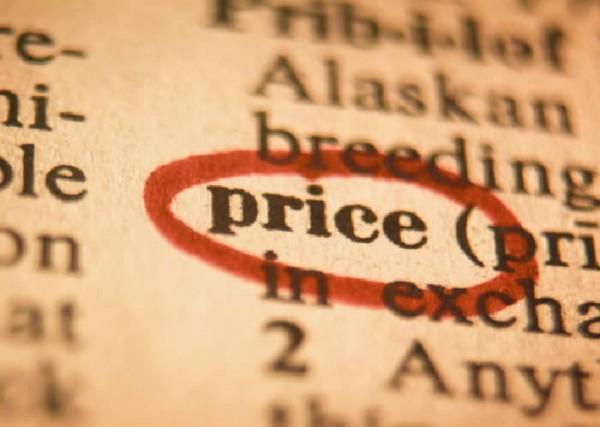Preço em destaque