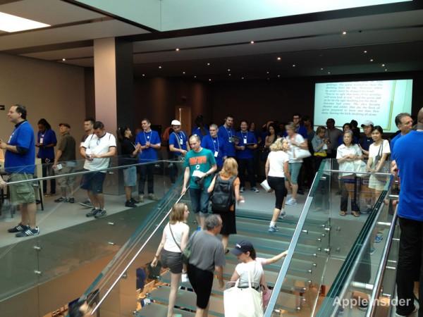 Reinauguração da Apple Store do SoHo