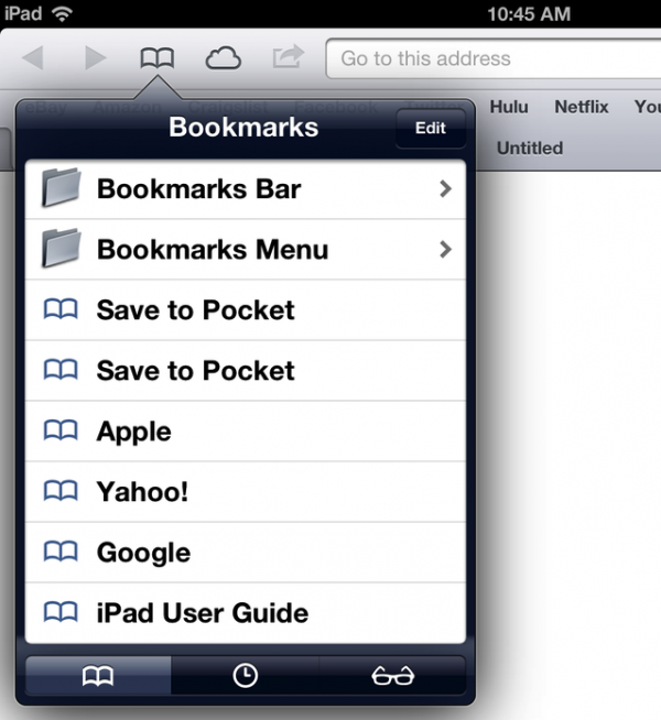 Safari no iOS 6 beta 3