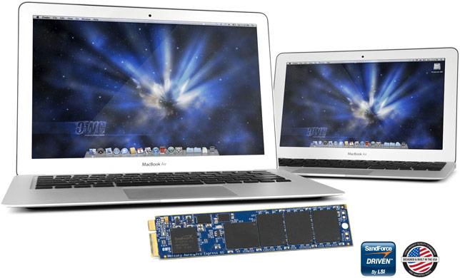 OWC SSDs para Airs