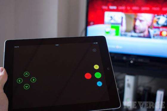 Controle remoto no iPad com o Xbox LIVE