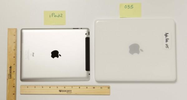 Protótipo 035 do iPad vs. iPad 2