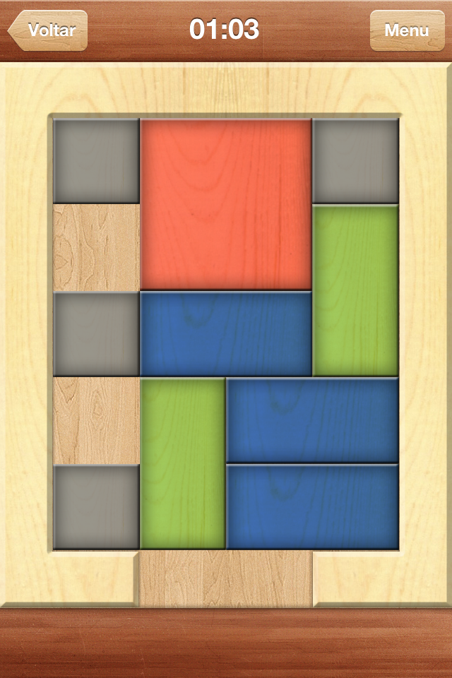 Red Block - iPhone