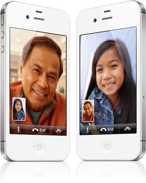 FaceTime em iPhone 4S