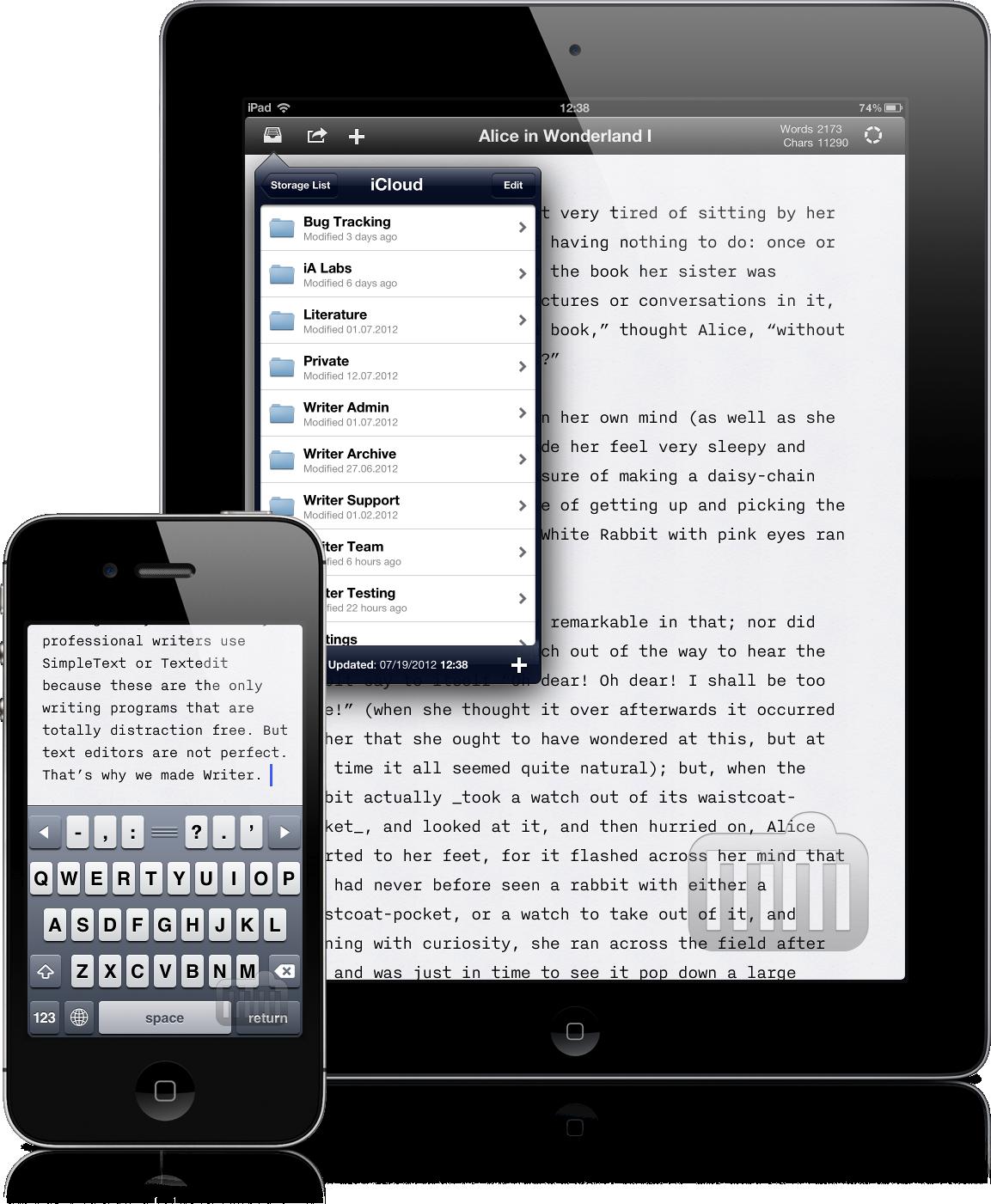 iA Writer para iOS