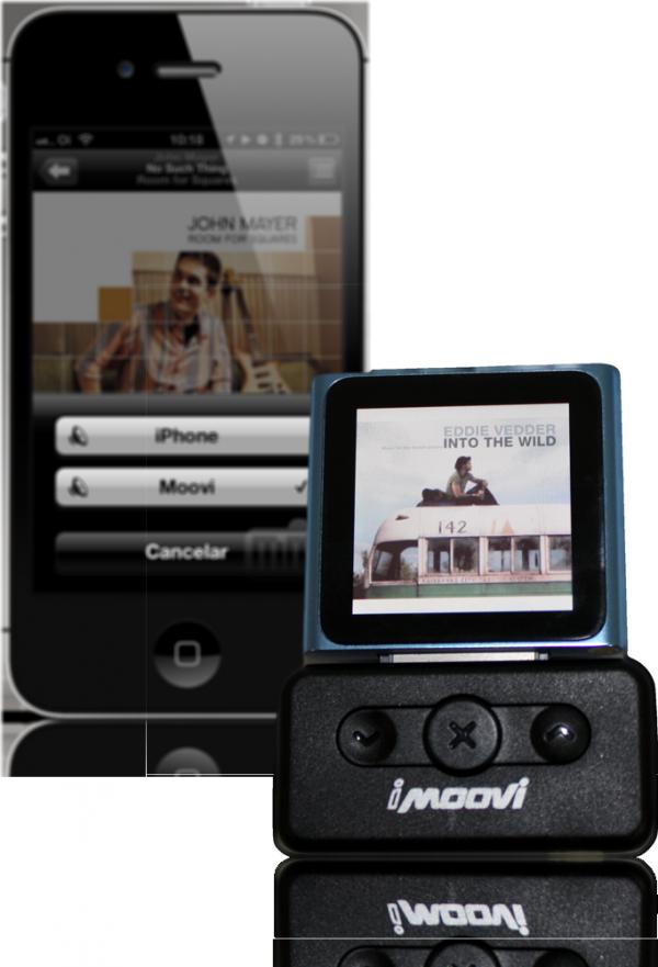 iMoovi com iPhone