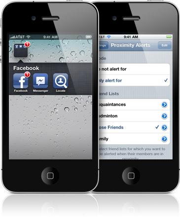 Locate em iPhones