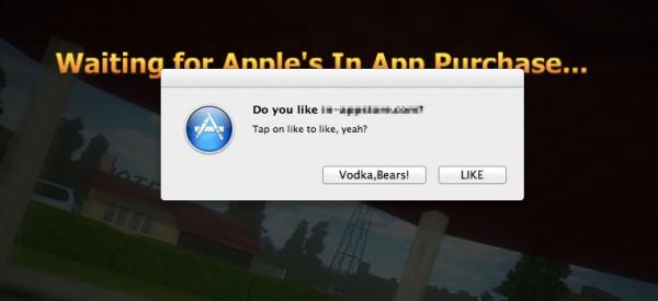 Hack de In-App Purchases no Mac