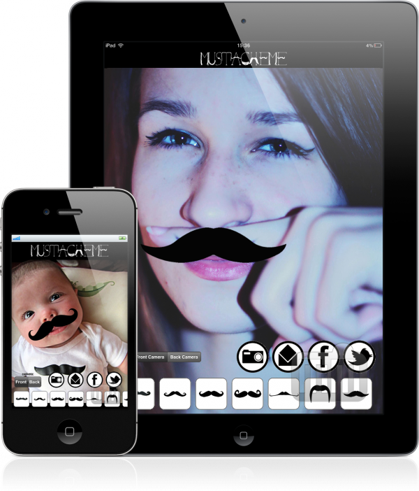 MustacheMe - iPad e iPhone
