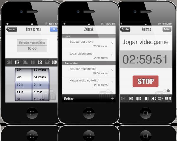 Zeitrak - iPhones