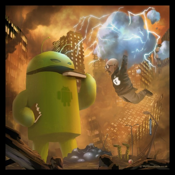 Guerra: Apple vs. Android