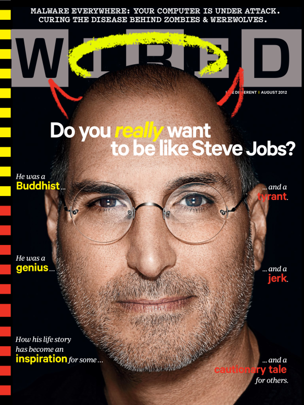 Steve Jobs na WIRED