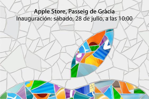 Inauguração da Apple Store Passeig de Gràcia em Barcelona