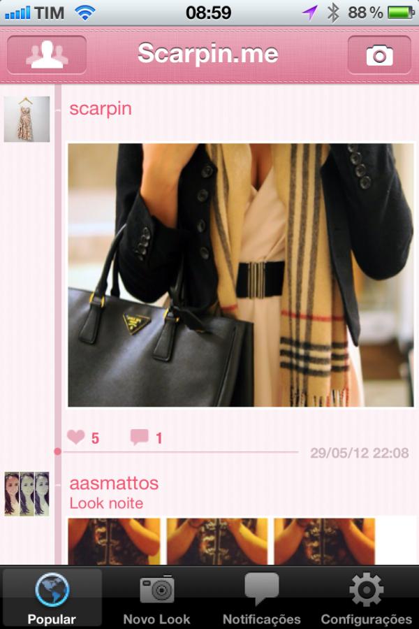 Scarpin.me - iPhone