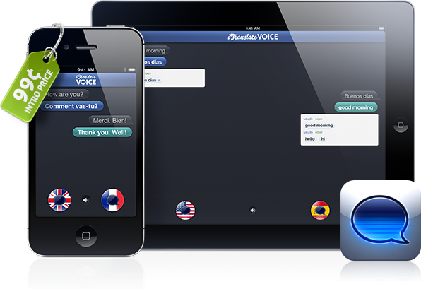 iTranslate Voice - iPad e iPhone