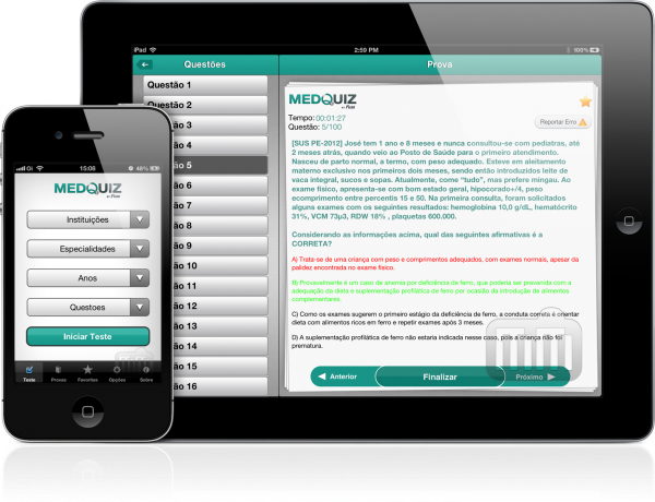 MedQuiz - iPad e iPhone