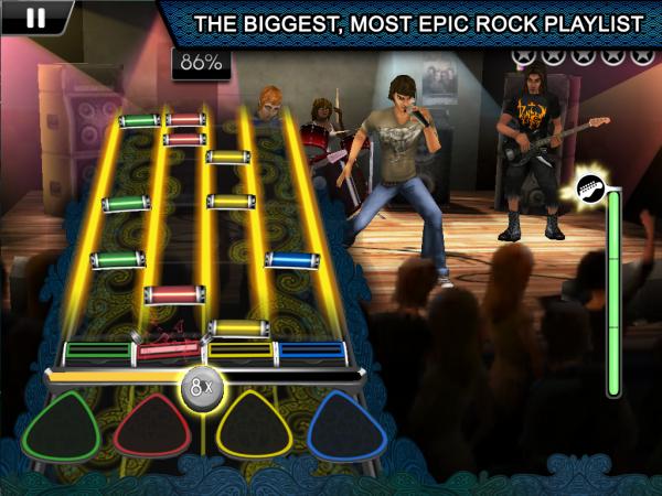 Rock Band Reloaded para iPad