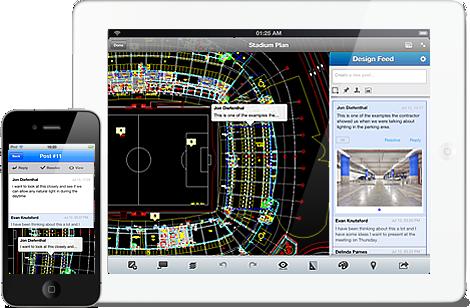 AutoCAD WS 1.5 em iGadgets