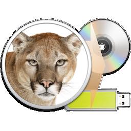 Logo - Lion DiskMaker