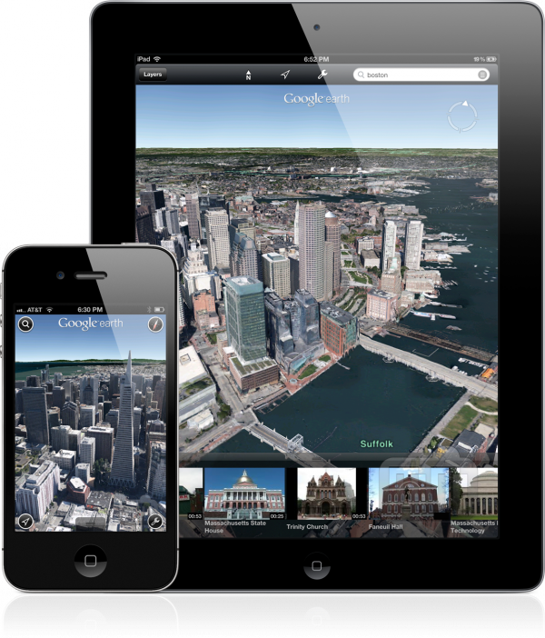 Google Earth 7.0 para iOS