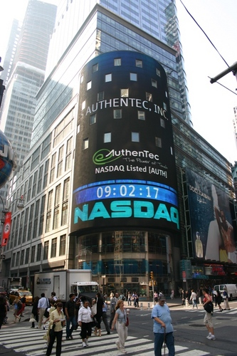 Authentec na NASDAQ