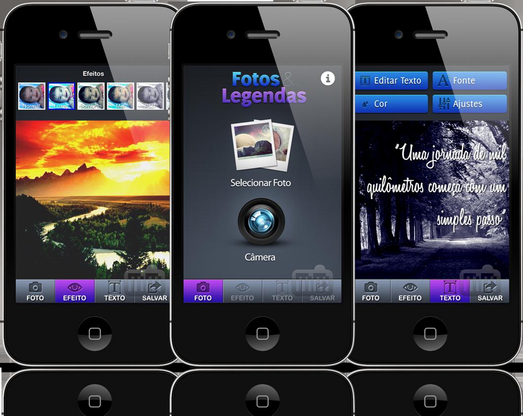 Fotos & Legendas - iPhones