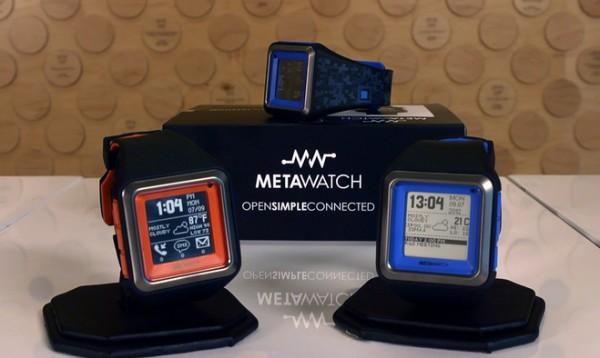 MetaWatch STRATA no Kickstarter