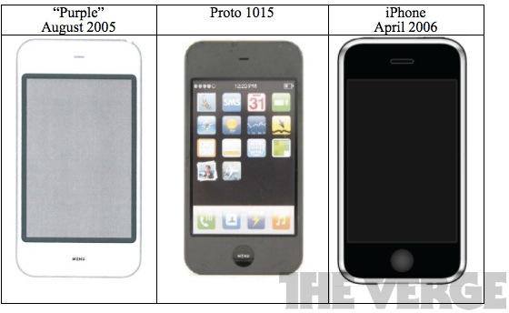 Projeto Purple do iPhone