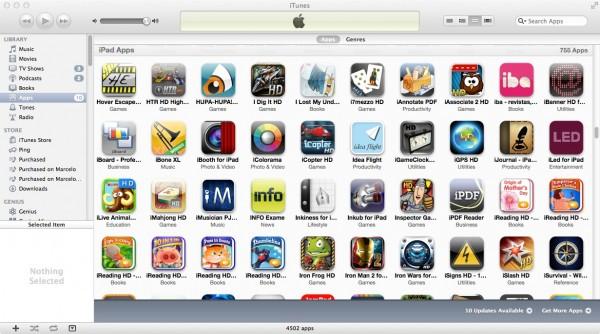 Biblioteca iTunes