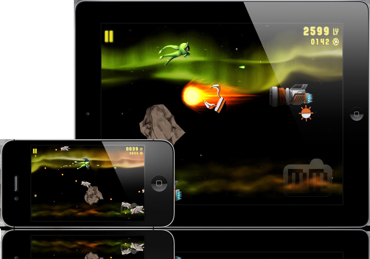 Galaxy Rush - iPad e iPhone
