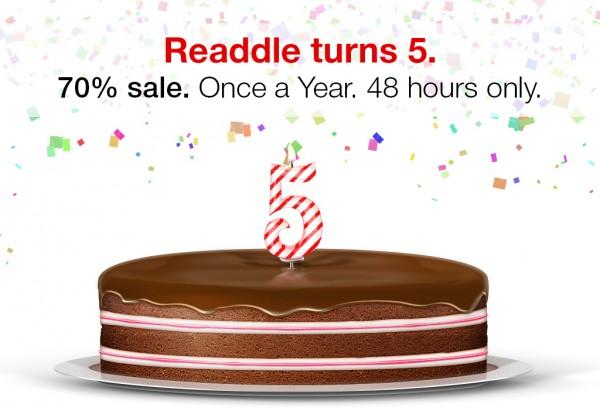 Cinco anos da Readdle