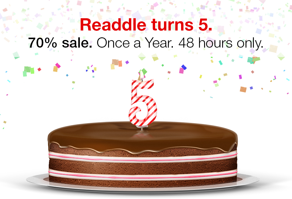 Cinco anos da Readdle