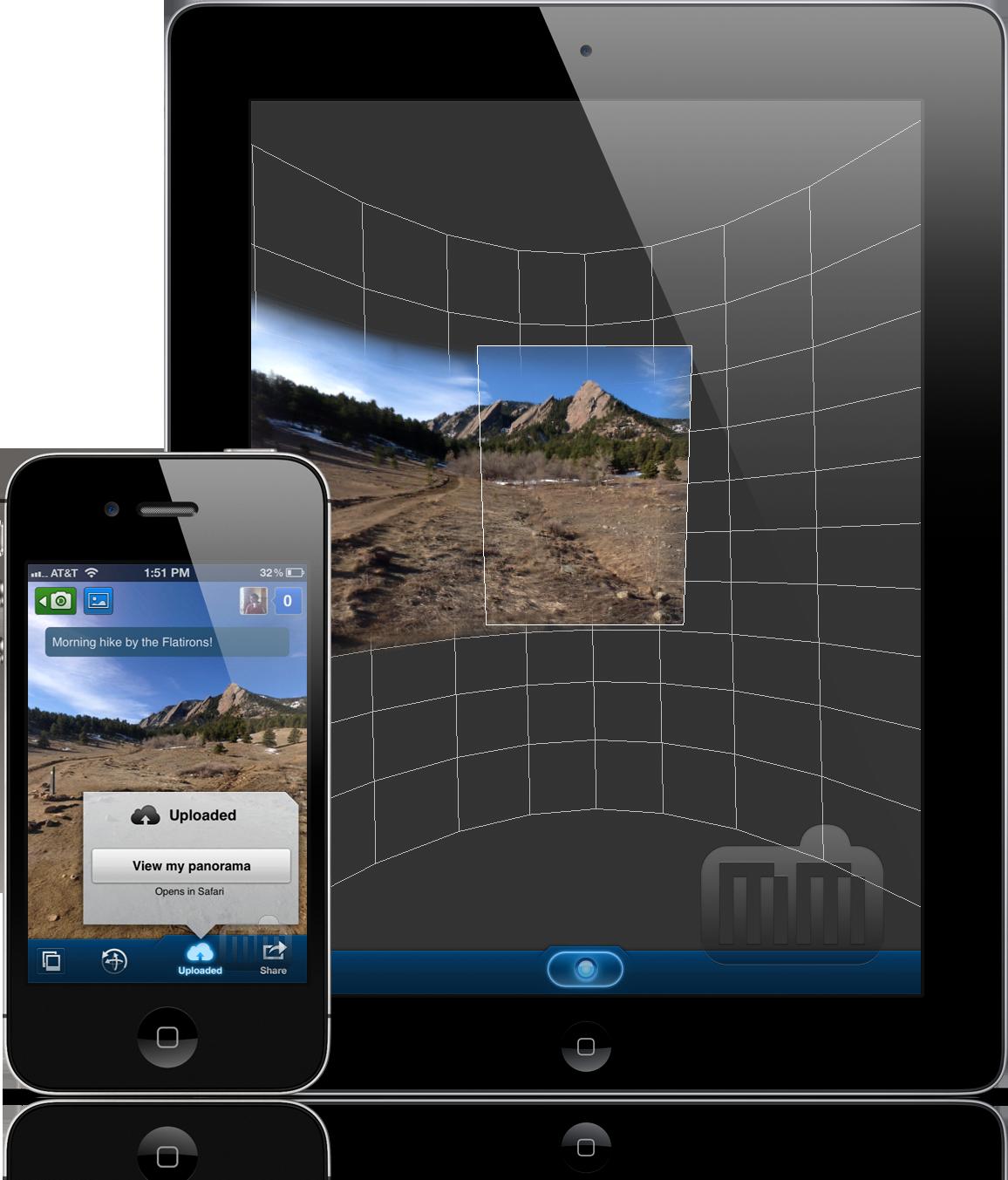 360 Panorama - iPad e iPhone