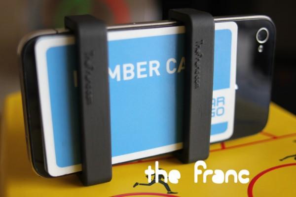 The Franc com iPhone