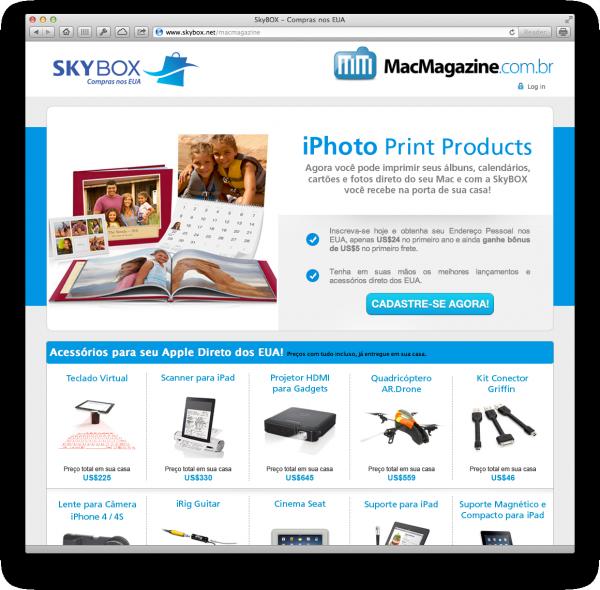 SkyBOX - MacMagazine com iPhoto