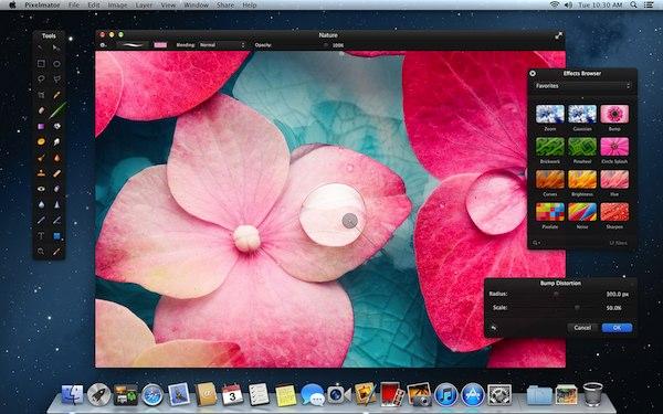 Pixelmator 2.1 Cherry