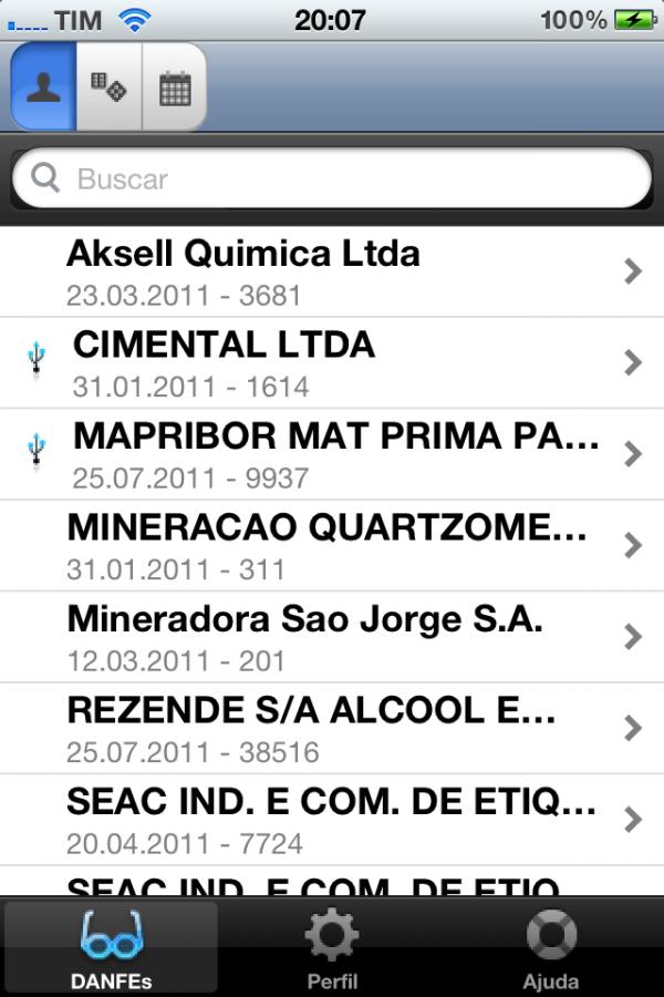 iDANFE Mobile - iPhone