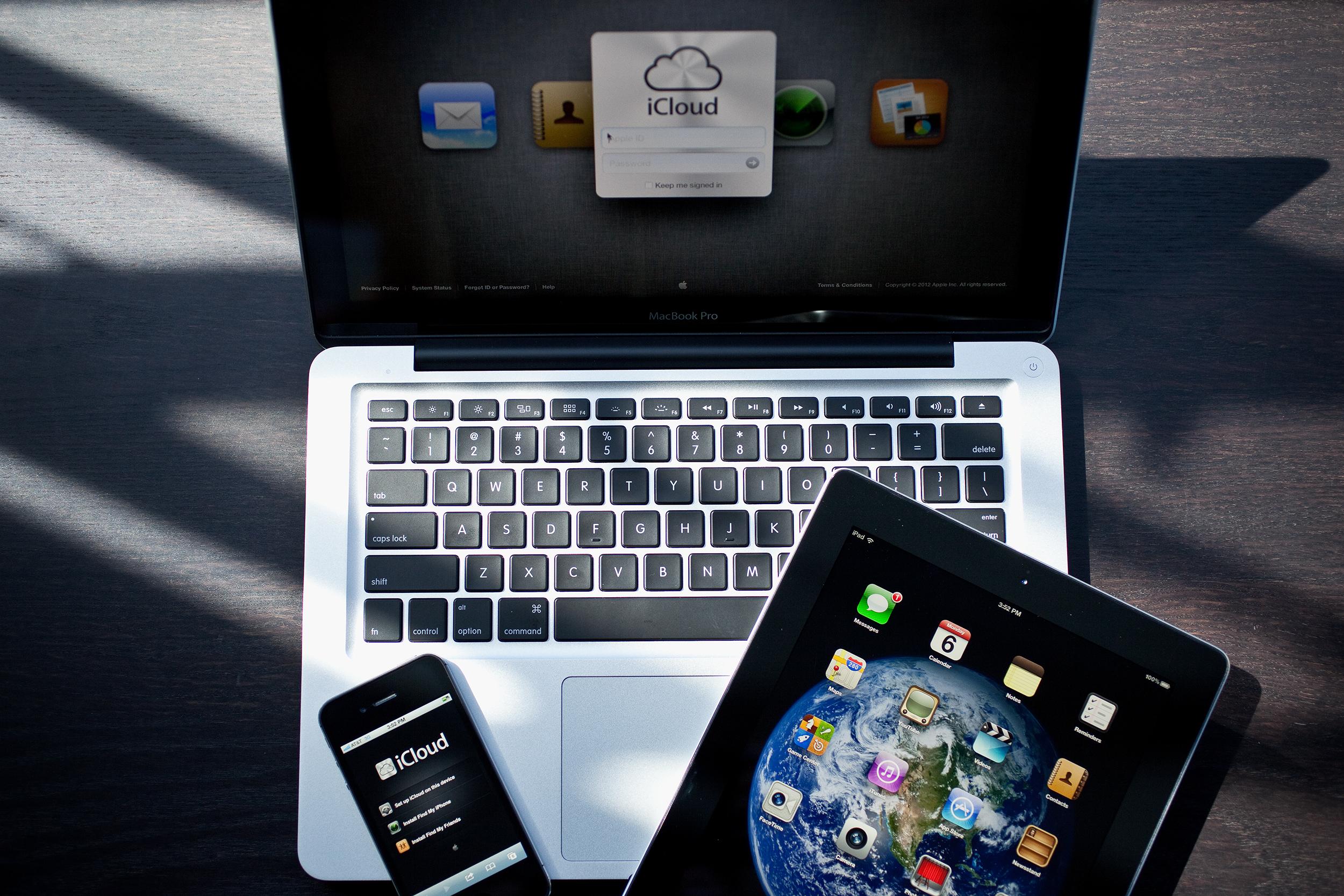 Acesso ao iCloud - Mac, iPhone e iPad