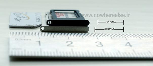 Bandeja de Nano-SIM do iPhone 5?