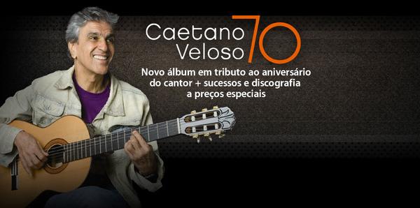 Caetano Veloso - 70 anos